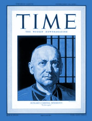Time Magazine Cover: Cardinal Mindszenty - Feb. 14, 1949